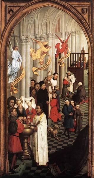 Weyden Seven Sacraments left wing